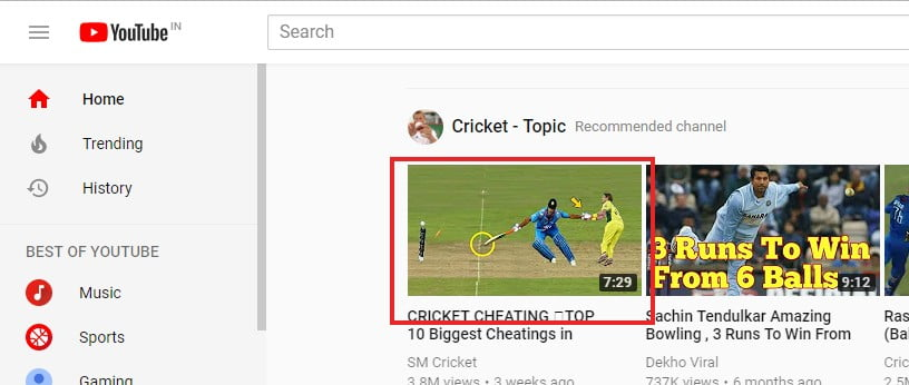 open chrome browser for download youtube videos