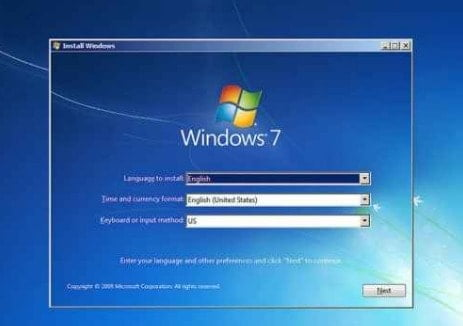 windows 7 kaise install kare computer me