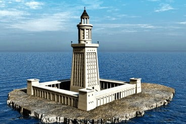 अलेक्सांद्रिया का लाइट हाउस/lighthouse of alexandria