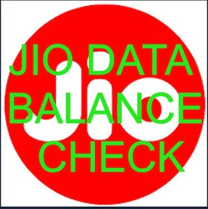 jio ka data or balance kaise check kare
