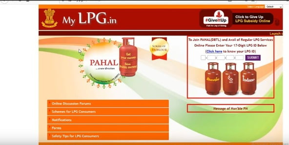 Select Your LPG GAS Cylinder