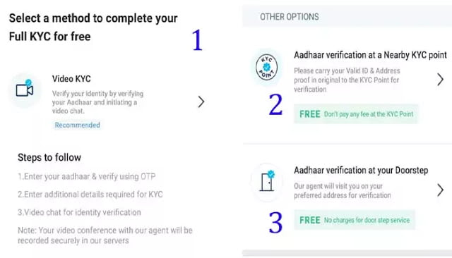 paytm kyc at your doorstep
