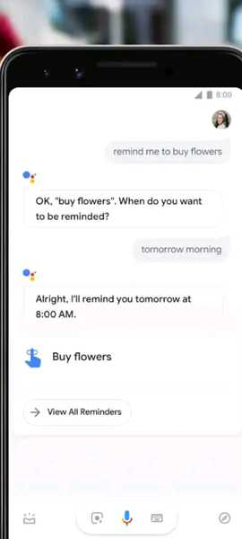 google assistant features